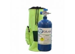 کپسول اکسیژن همراه 2/5 لیتری فولادی bluer