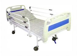 تخت بیمارستانی یک شکن مکانیکی