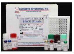 تعیین کمی غلظت β-HCG به روش رادیوایمونواسی در سرم انسان (Beta- hCG RIA Kit)