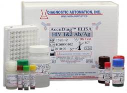 کیت سنجش HIV 1,2 به روش الایزا (HIV 1+2 Ab ELISA Kit)