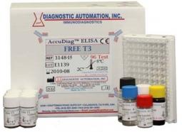 تعیین کمی غلظت Free T3 به روش الایزا در سرم انسان (Free T3 ELISA Kit)
