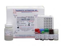 کیت تشخیص ویروس هپاتیت C به روش الایزا در سرم انسان(HCV-Ab ELISA Kit)