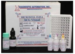 تعیین کمی غلظت Rapid HCG به روش الایزا در سرم انسان (HCG (Rapid) ELISA Kit)